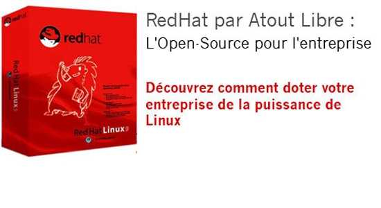 Red Hat, prestations et achat de souscriptions