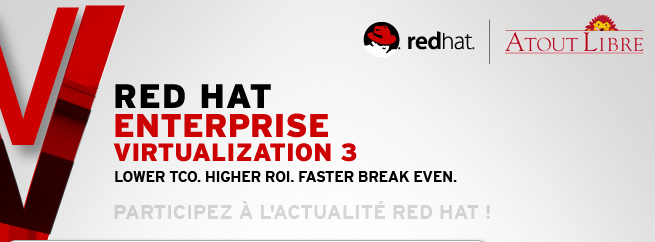 La solution Red Hat Entreprise Virtualisation 3
